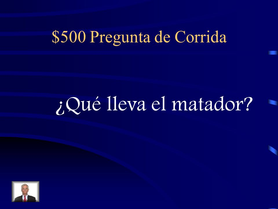 $400 Respuesta de Corrida ¡Viva el Toro!