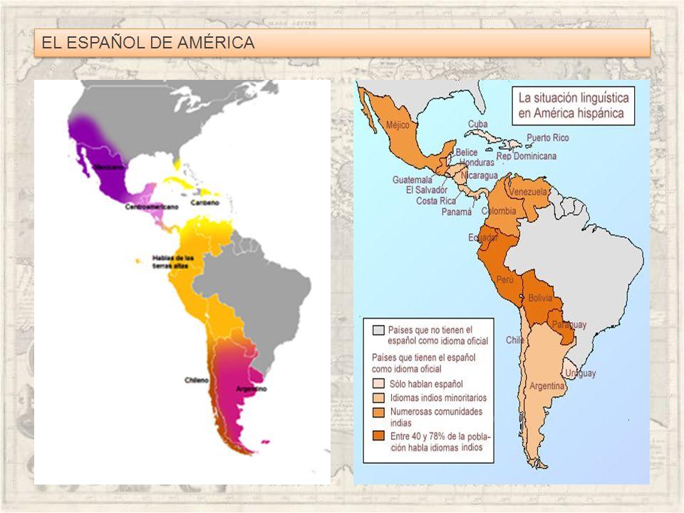 Rasgos lingüísticos del español americano.Rasgos fónicos Seseo generalizado.