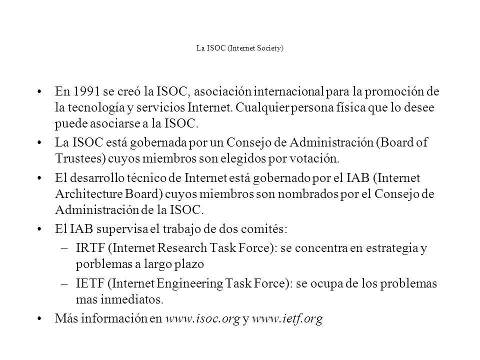 Algunos Estándares ITU-T X.25: red pública de conmutación de paquetes X.400: sistema de mensajería de correo electrónico V.35: interfaz de nivel físic