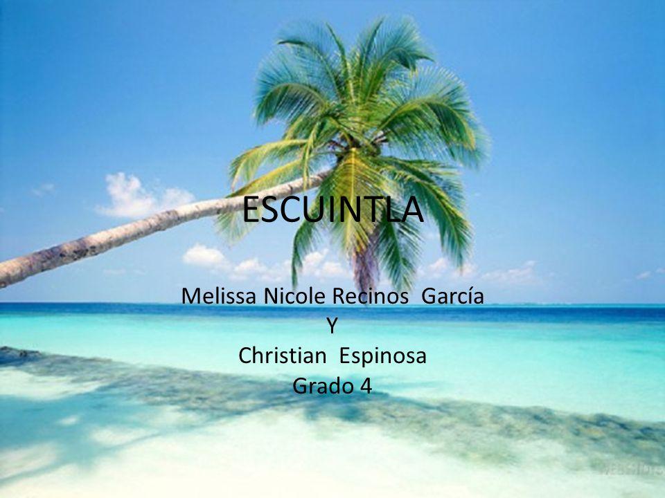 ESCUINTLA Melissa Nicole Recinos García Y Christian Espinosa Grado 4
