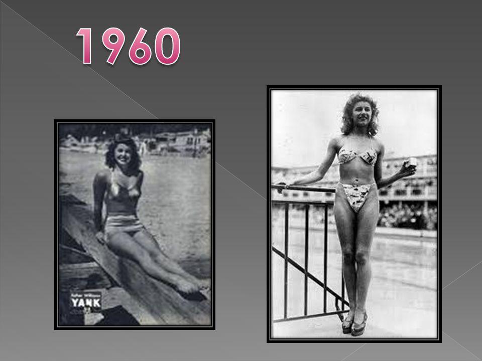 Durante los primeros años de la década de los 70´s surgió un nuevo traje de baño de una pieza.