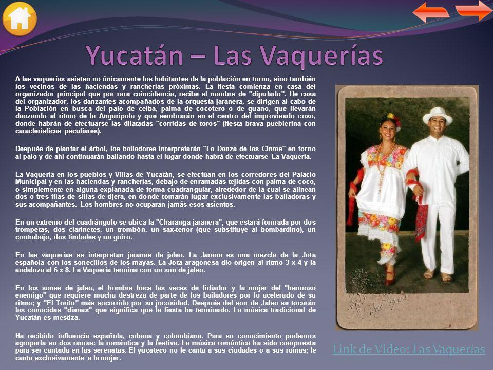 El terno, atuendo de fiesta de la población del campo, es uno de los símbolos que caracterizan a la cultura Yucateca, junto con el huipil o hipil, como comúnmente le llamamos los yucatecos, este es el atuendo cotidiano para la mujer campesina.