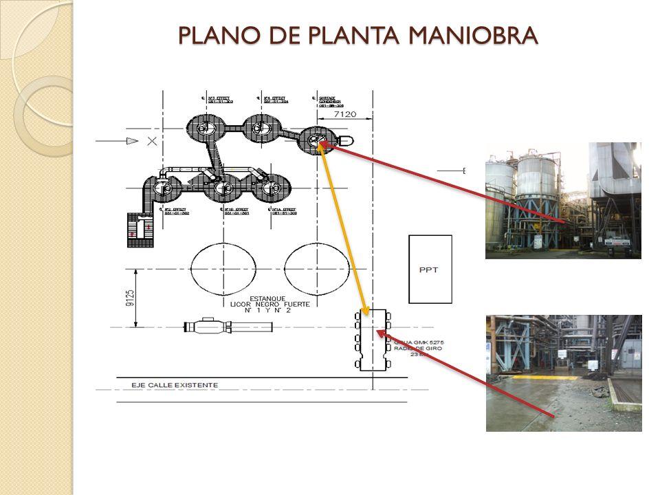 PLANO DE PLANTA MANIOBRA