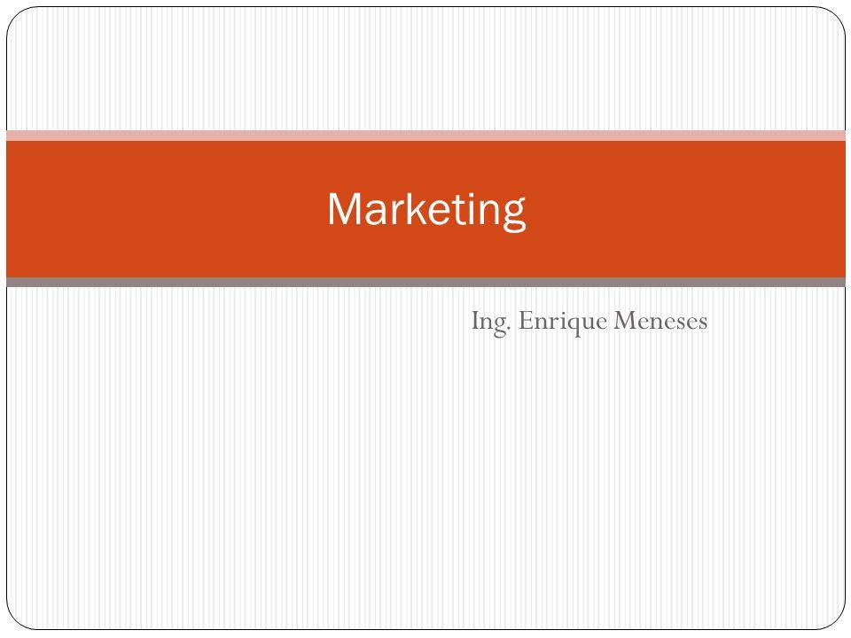 El término mercadotecnia o mercadología (en inglés marketing ) tiene diversas definiciones.