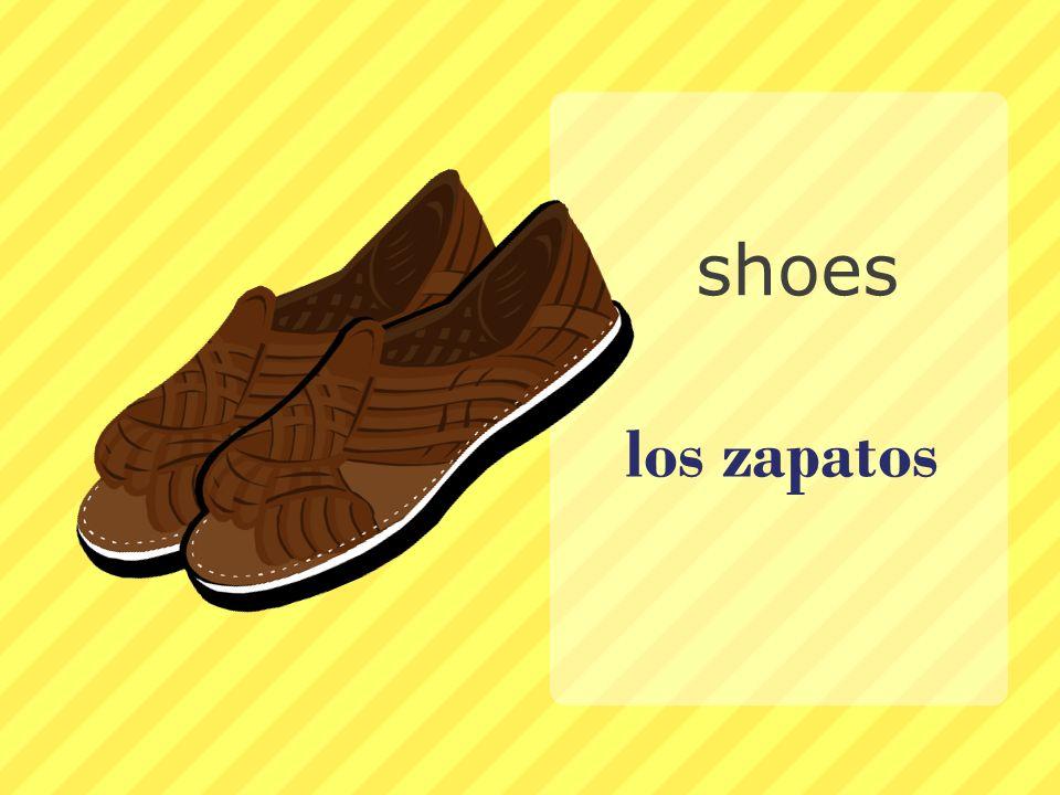 los zapatos shoes