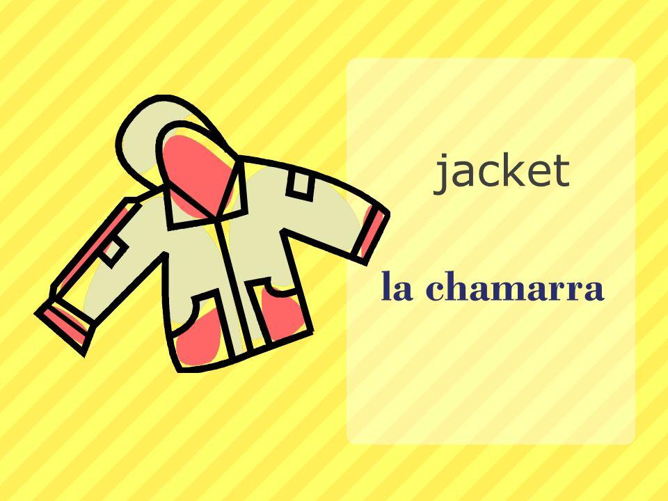 la chamarra jacket