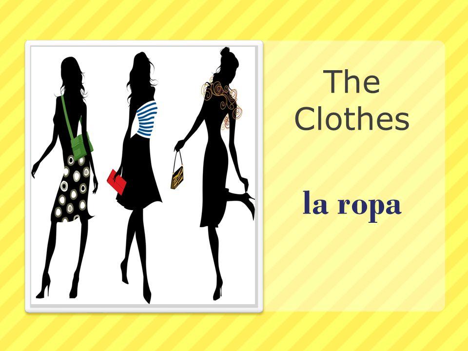 la ropa The Clothes