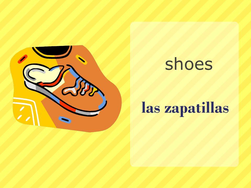 las zapatillas shoes