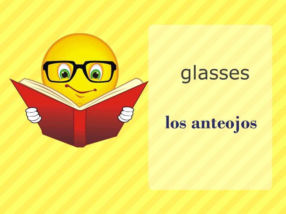los anteojos glasses
