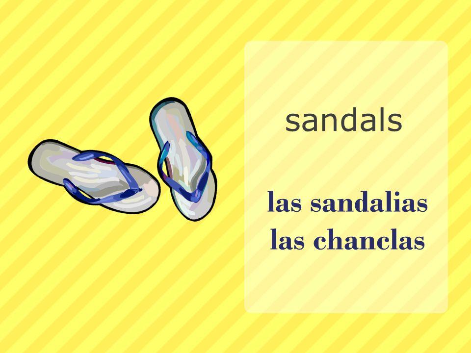 las sandalias las chanclas sandals
