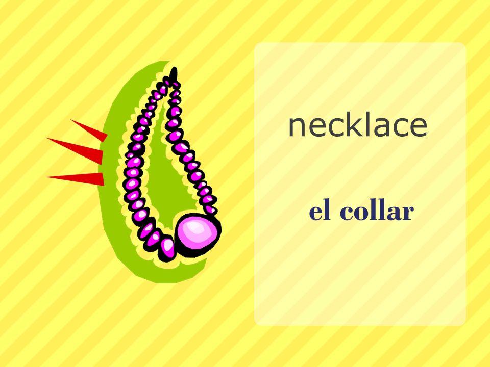 el collar necklace