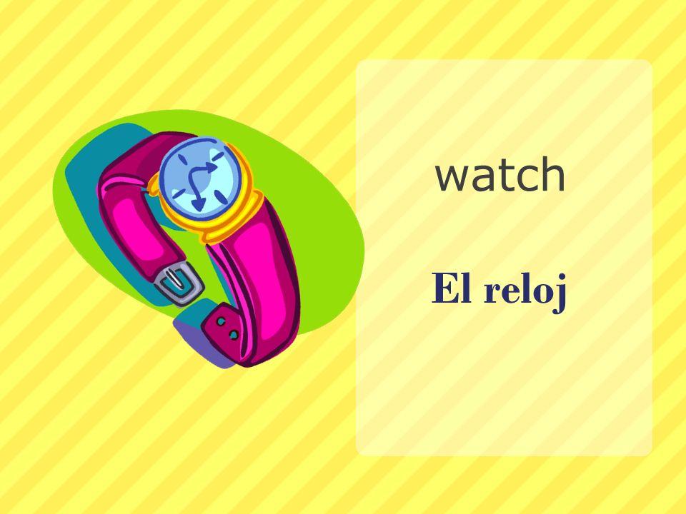 El reloj watch