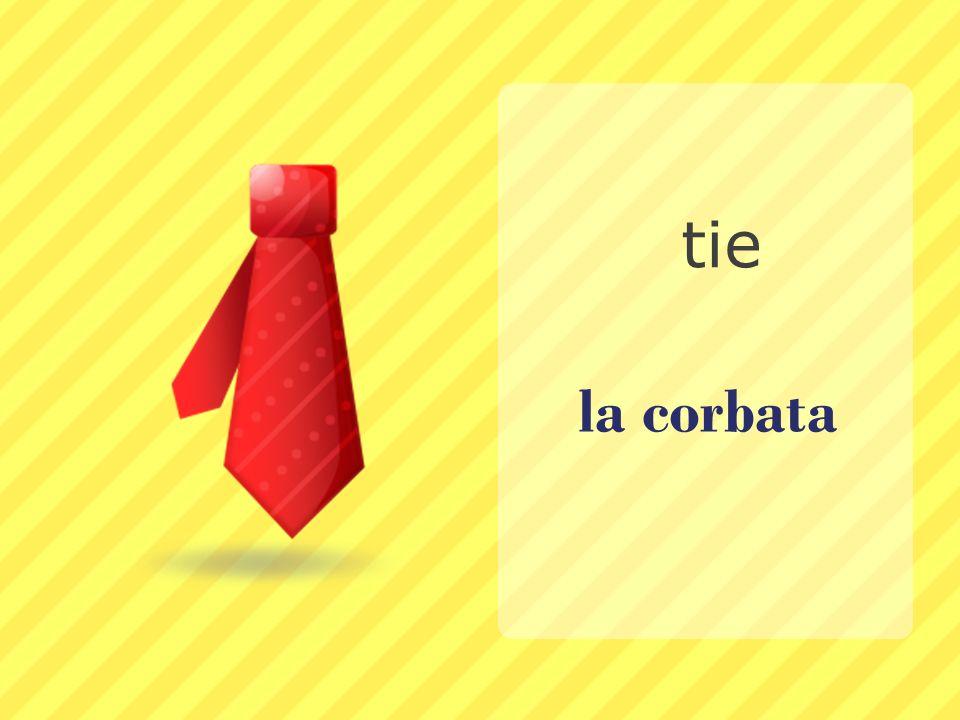 la corbata tie