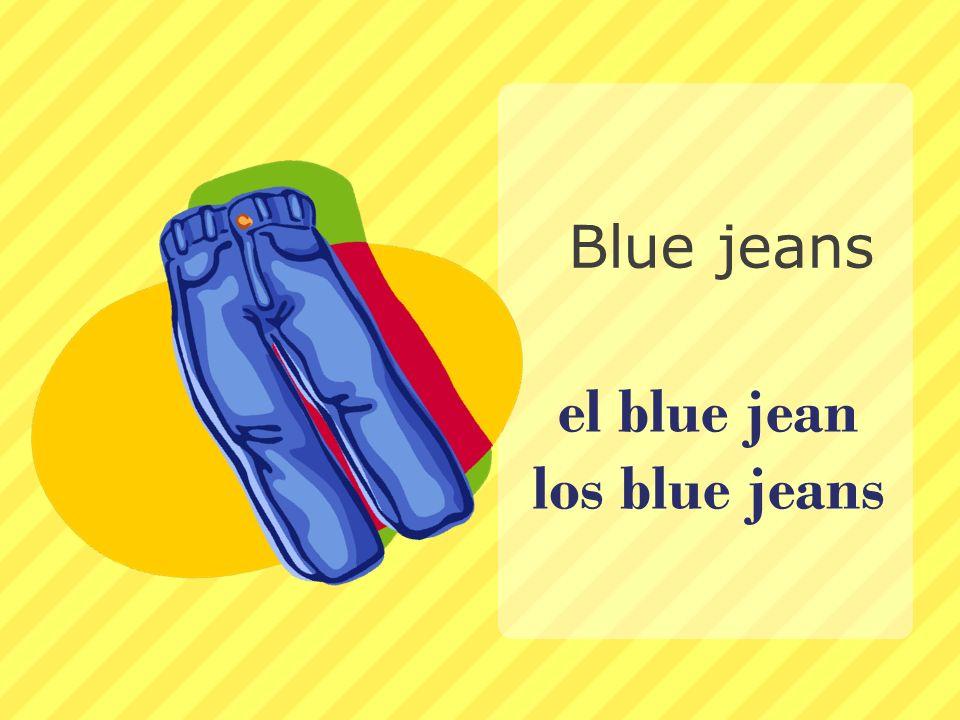 el blue jean los blue jeans Blue jeans
