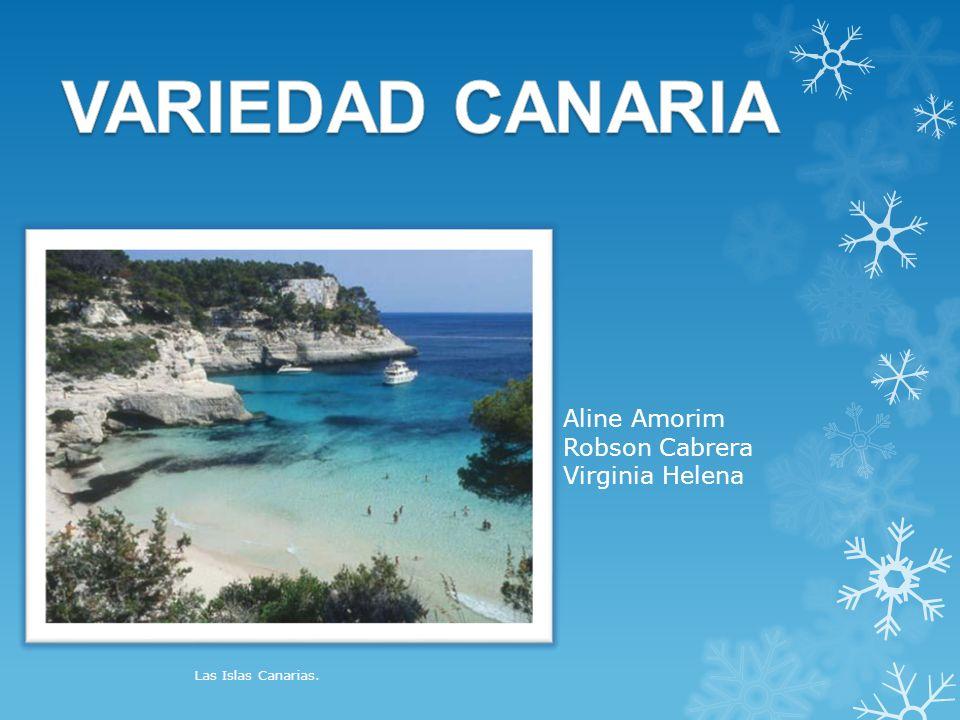Aline Amorim Robson Cabrera Virginia Helena Las Islas Canarias.