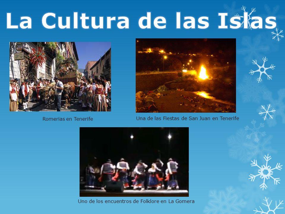 Romerias en Tenerife Las romerías son las manifestaciones festivas más típica de Tenerife.
