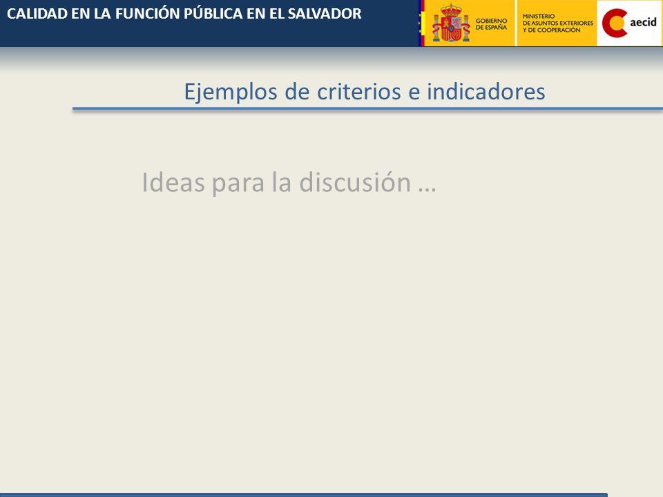 Propuesta indicadores calidad educativa Comunidad Valenciana