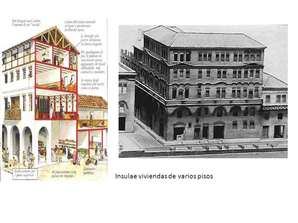 Insulae viviendas de varios pisos