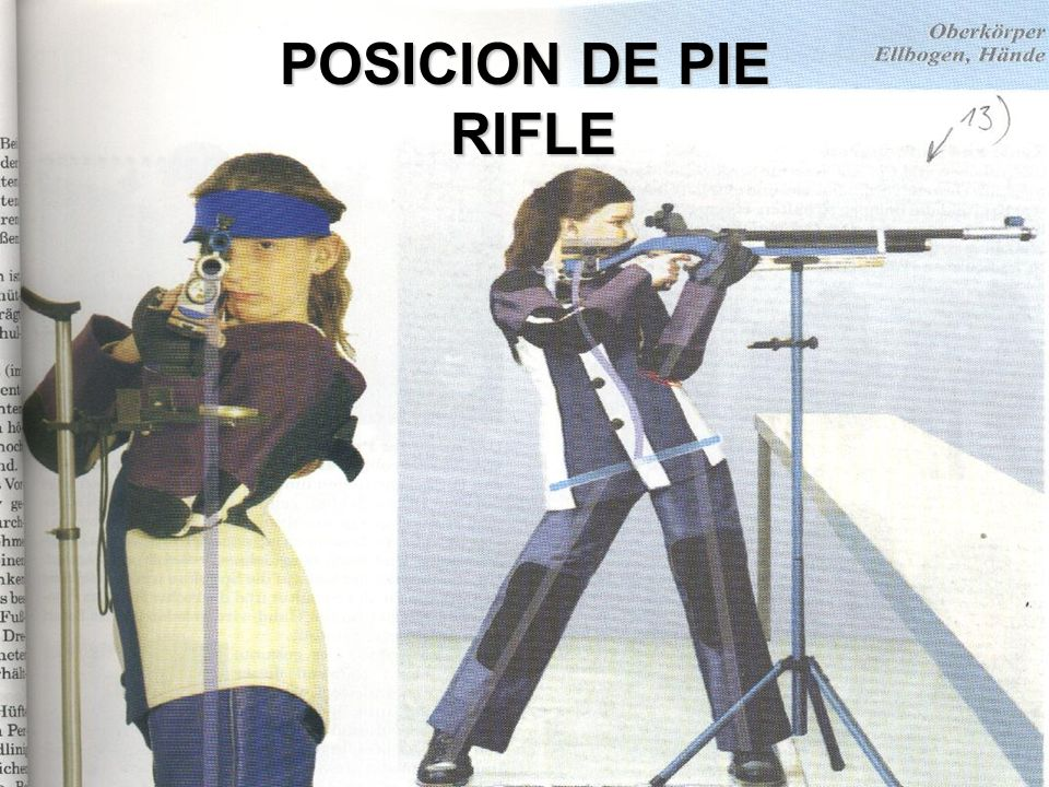 POSICION DE PIE RIFLE