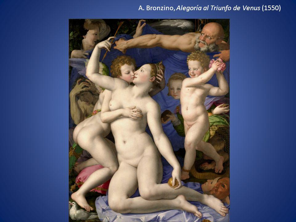 A. Bronzino, Alegoría al Triunfo de Venus (1550)