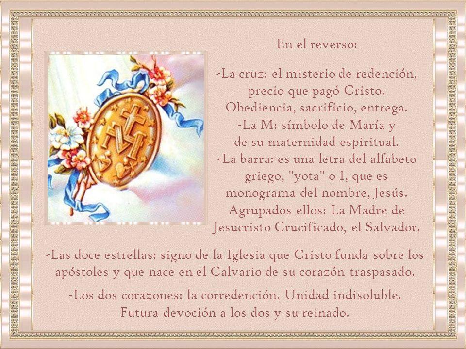 -Jaculatoria: dogma de la Inmaculada Concepción (antes de la definición dogmática de 1854).