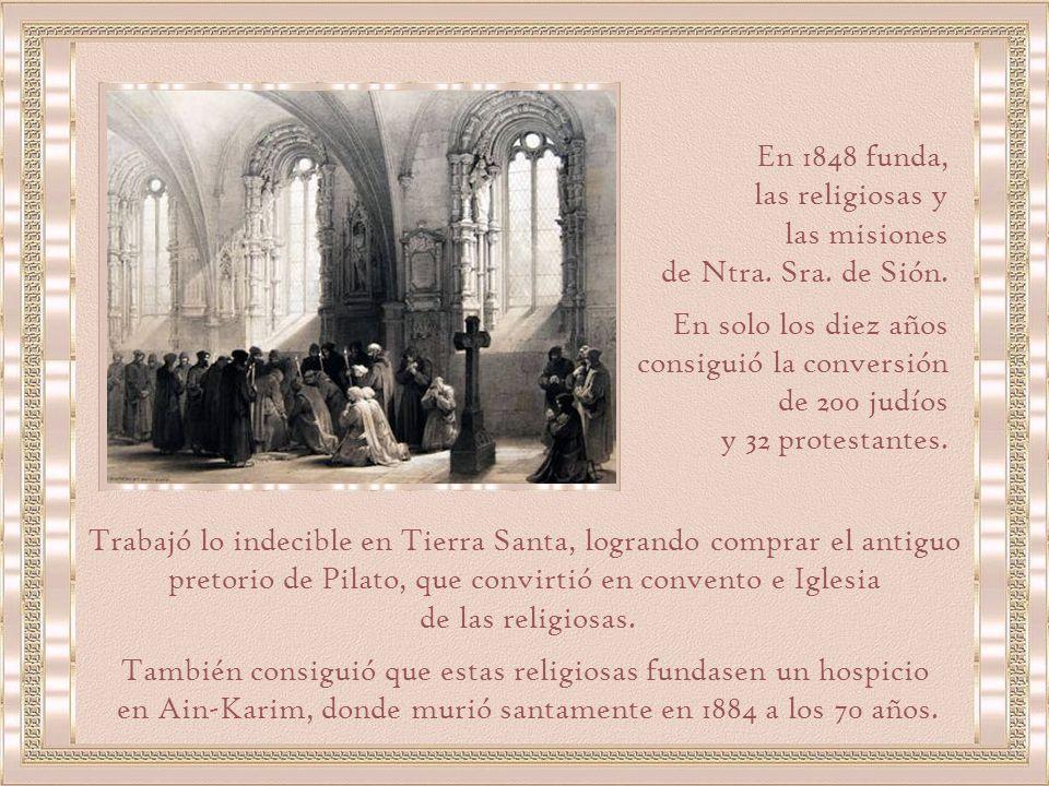 Poco tiempo mas tarde es bautizado en la Iglesia del Gesu en Roma.
