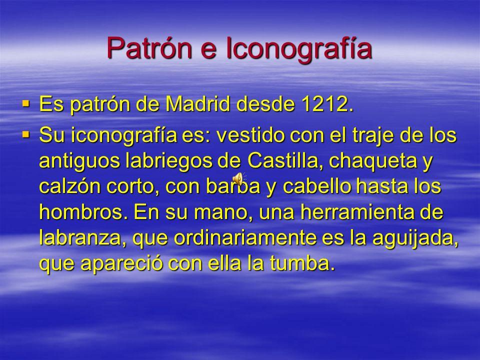 Obras literarias dedicadas a él Las primeras obras impresas en las que aparecen referencias a San Isidro se deben a Lucio Marineo Sículo, Juan López d