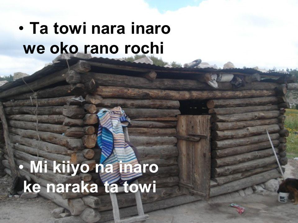 Wasaroami bile muki wamina nararachi Ta towi yua inaro ma ke simi nara ba