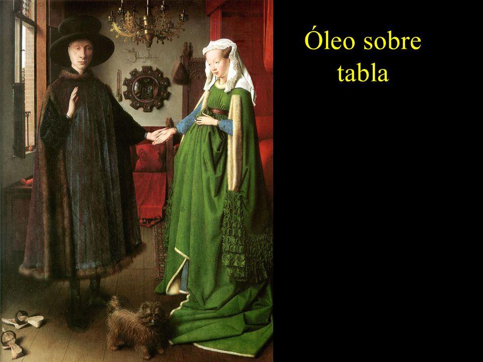El matrimonio Arnolfini.Jan Van Eyck.