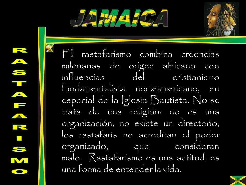 El rastafarismo combina creencias milenarias de origen africano con influencias del cristianismo fundamentalista norteamericano, en especial de la Igl