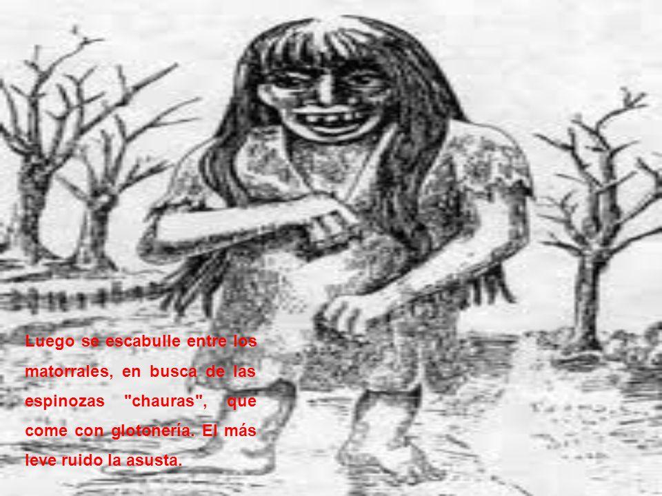 La Fiura, hija única de la Condená, es la mujer del viril Trauco más esto no le impide ofrecer su amor a todos los hombres, a quienes exige como severa condición, aceptarla con los ojos cerrados, tiene un gran poder de seducción, y una vez que logra atraer a su víctima lo enloquece.