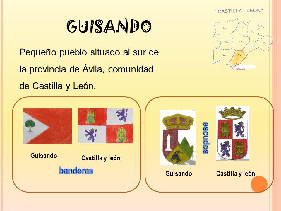 GUISANDO Pequeño pueblo situado al sur de la provincia de Ávila, comunidad de Castilla y León.