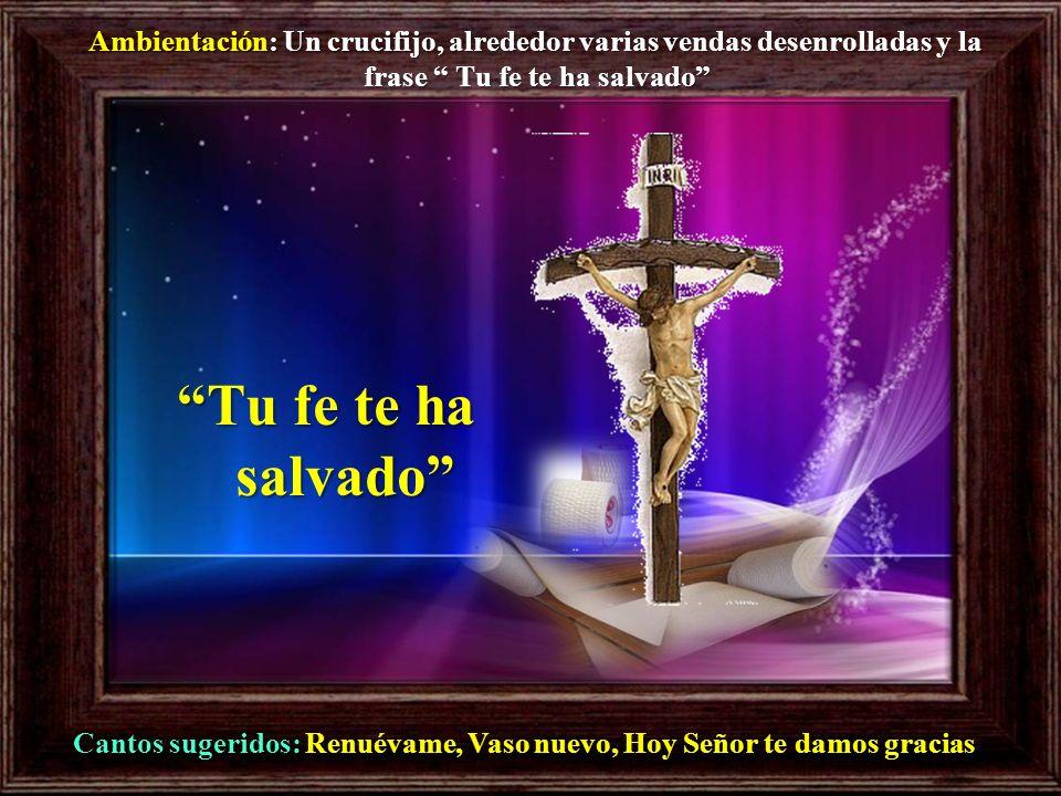 17 Jesús tomó la palabra y dijo: