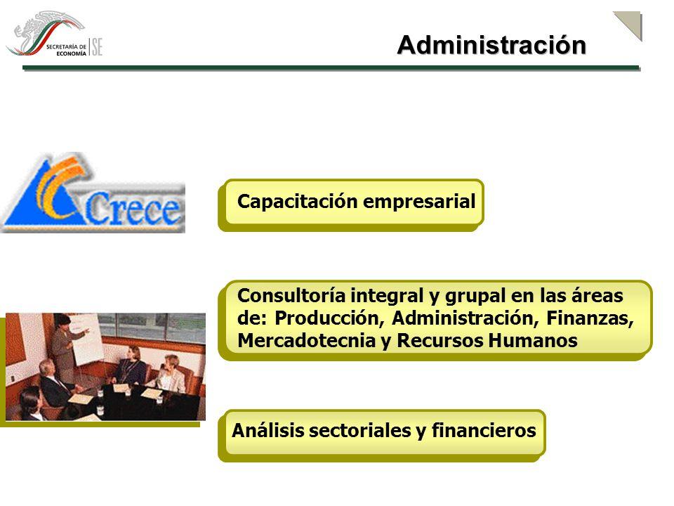 Taller de Productividad Capacitación y Consultoría en Calidad ISO 9000 Herramientas de apoyo empresarial en Internet (Autodiagnóstico, Soluciones de Aprendizaje y Conocimiento SAC, Sistema de Información sobre Servicios Tecnológicos SISTEC, etc.