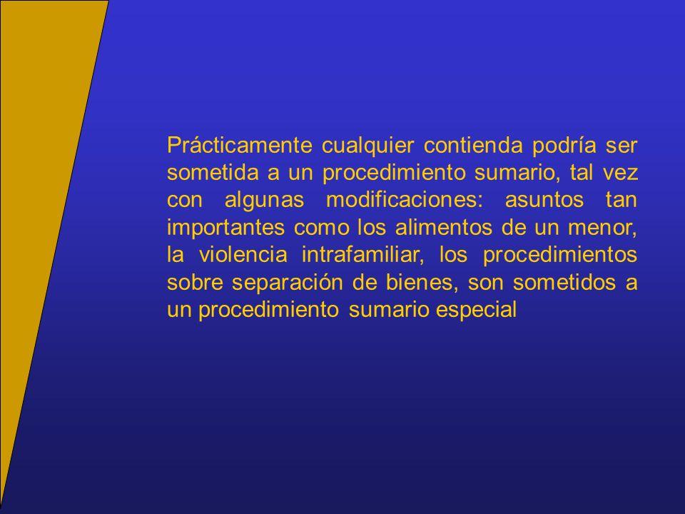 Trámite ulterior al comparendo Con o sin oposición: se recibe a prueba, si procede (685); si no, se pronuncia sentencia.