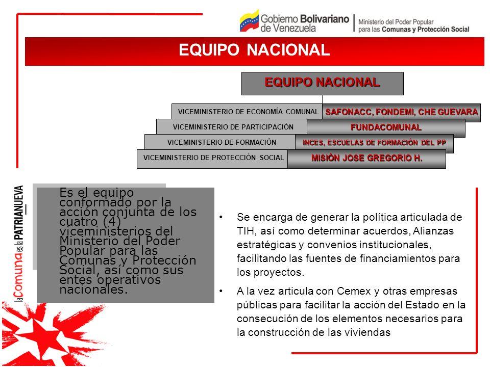 JUSTIFICACIÓN I pe JUSTIFICACIÓN Es el equipo conformado por la acción conjunta de los cuatro (4) viceministerios del Ministerio del Poder Popular par