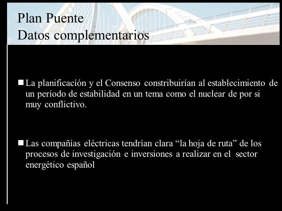 La planificacíón y el Consenso constribuirían al establecimiento de un período de estabilidad en un tema como el nuclear de por si muy conflictivo.