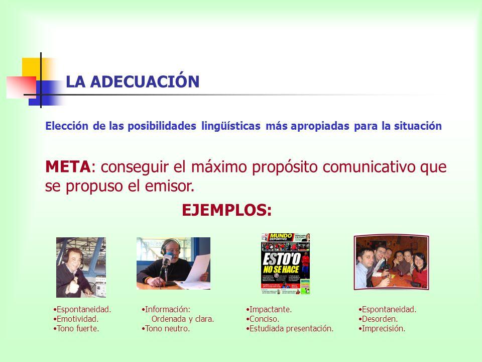 Ejercicio Señala los distintos procedimientos de cohesión que encuentres en el texto: a) Procedimientos gramaticales.
