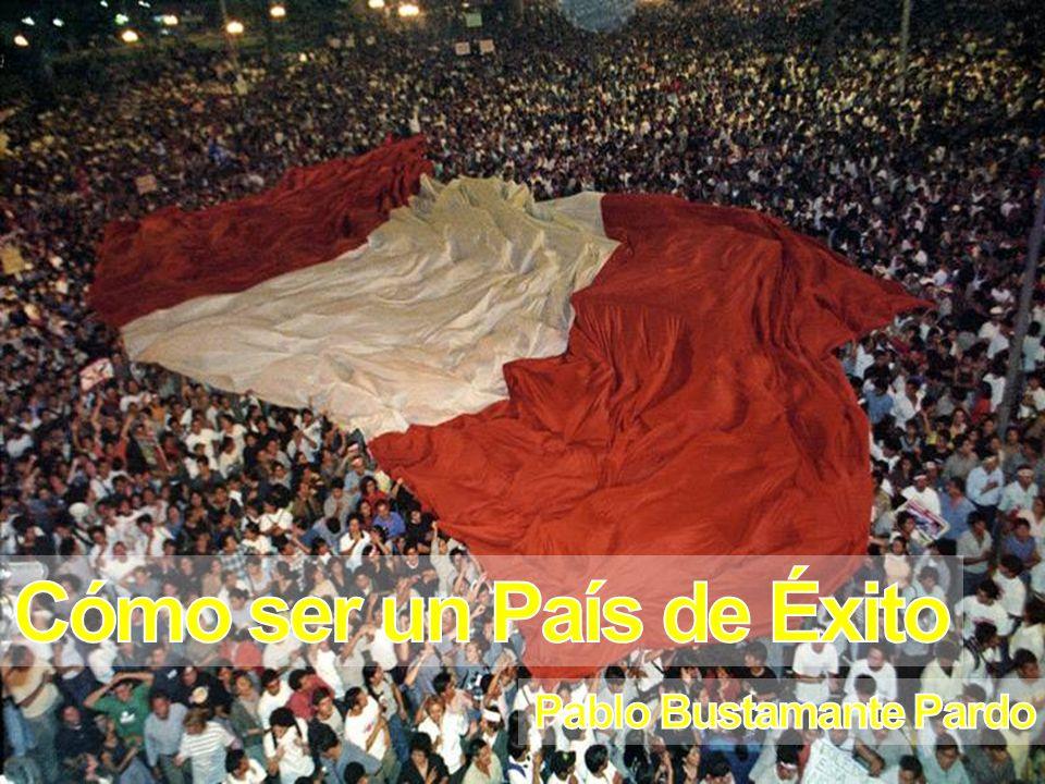Mundo (100%) Perú (60%) Fuente: Xavier Sala i Martín, CADE 2007 Cifras expresadas en US Dólares ajustados por poder de compra 2006 1975 PBI per cápita (1950 – 2006)PBI per cápita en relación al Mundo La Realidad Nacional Todavía estamos por debajo del Perú de 1975 1975