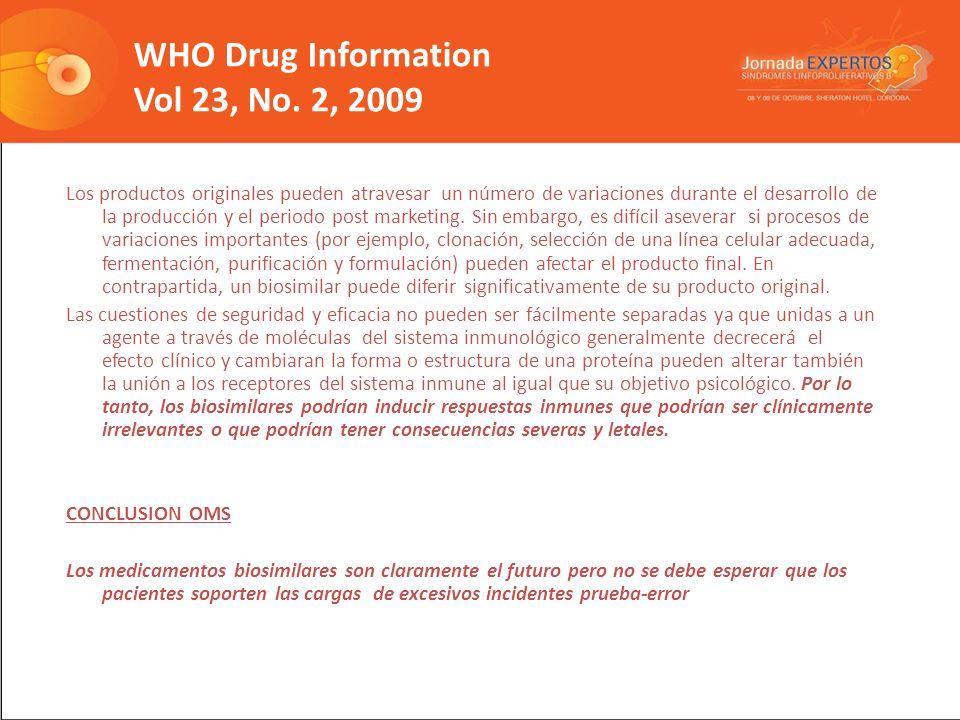 WHO Drug Information Vol 23, No.