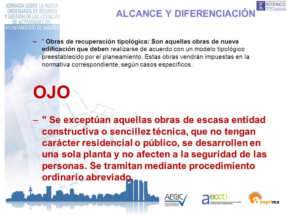 ALCANCE Y DIFERENCIACIÓN –