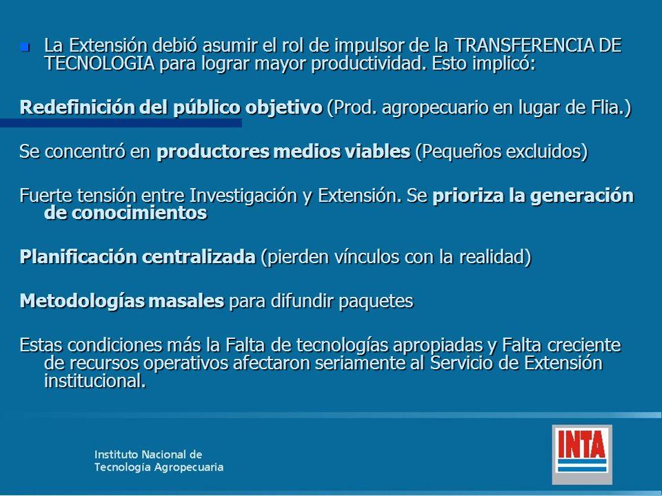 b) 1976 a fines de los 80´:Transferencista n Estado Autoritario.