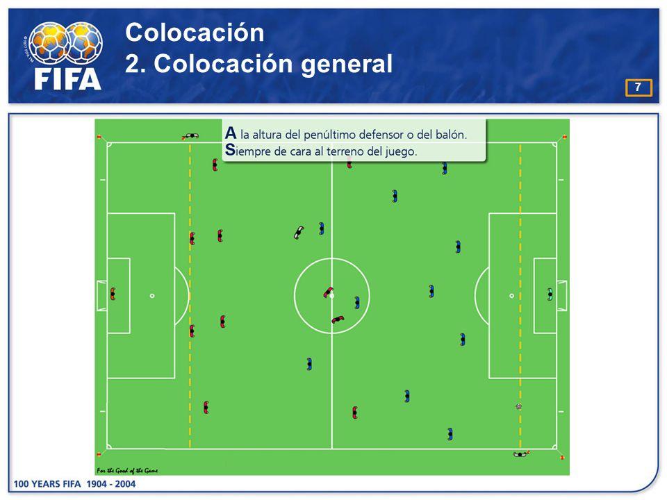 18 Señales con las manos o gestos C omo regla general, el árbitro asistente no debe hacer señales obvias con la mano.