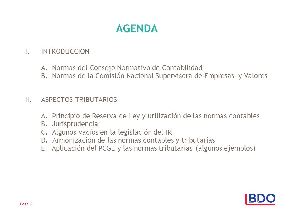 I.INTRODUCCIÓN A.Normas del Consejo Normativo de Contabilidad B.
