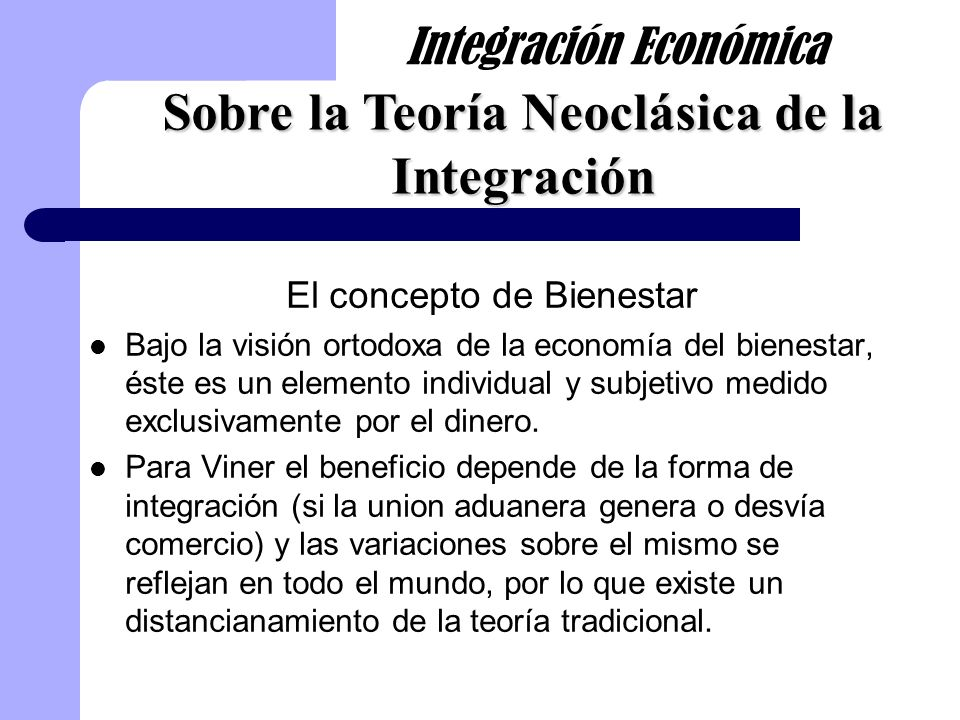 Reinterpretaciones Viner tuvo en cuenta la eficiencia de la producción y la eficiencia técnica.