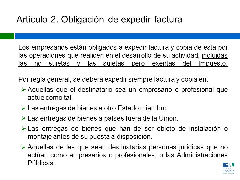 CAPÍTULO III Remisión de facturas Artículo 17.Obligación de remisión de las facturas.