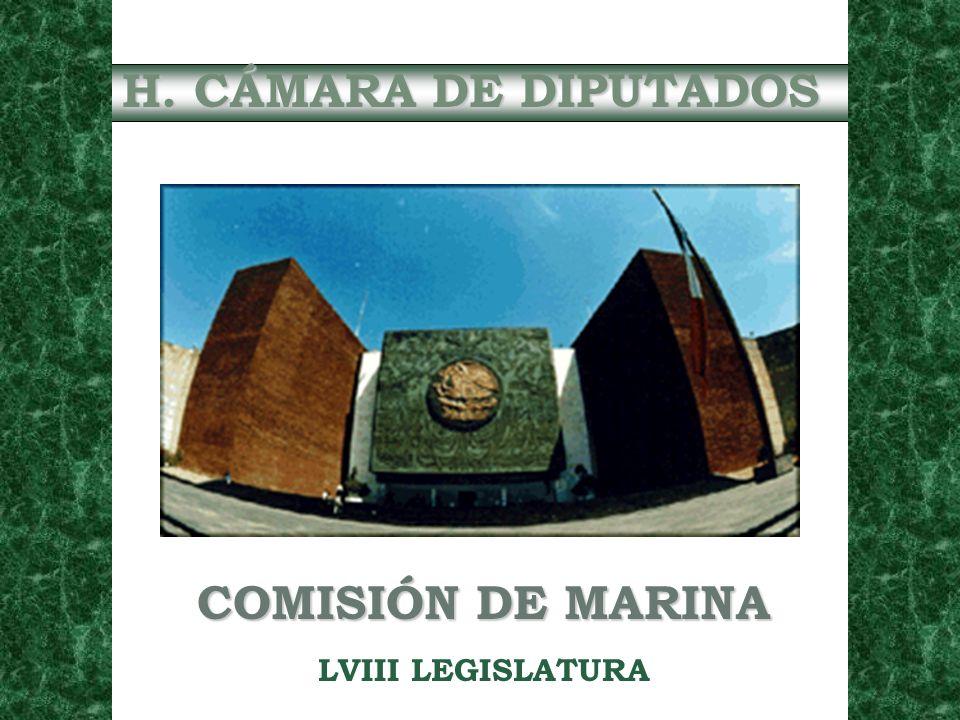 DIP.CÉSAR PATRICIO REYES ROEL PRESIDENTE DE LA COMISION DE MARINA DE LA H.
