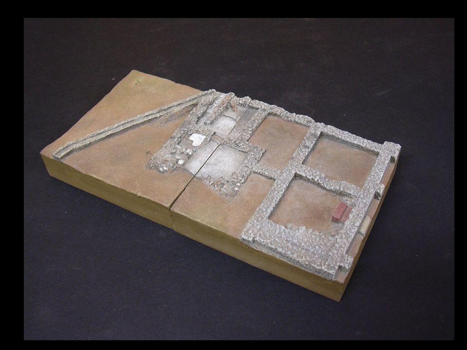 Una vez realizado el montaje de toda la superficie del área arqueológica, pasaremos a la segunda fase que consistirá en la representación de los restos tal y como eran en su época de máximo esplendor, a una altura de unos dos metros, a escala.