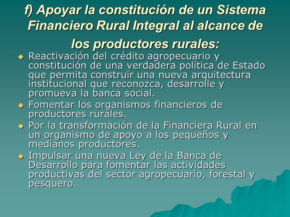 En virtud de que algunos aspectos están relacionados con la materia del desarrollo rural, en el marco del trabajo en Comisiones Unidas del Sector Rural, la CDR coadyuvará en las siguientes tareas legislativas: