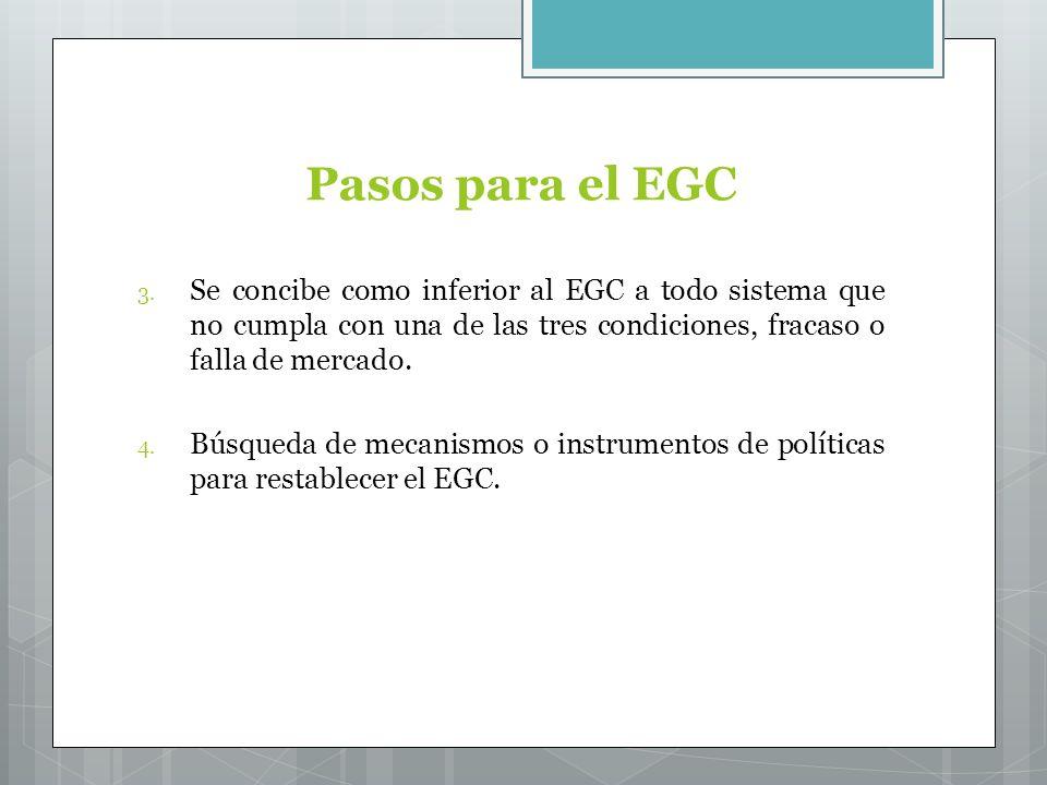 Pasos para el EGC 3.